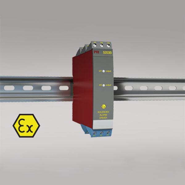 5203B Ex solenoid / alarm driver