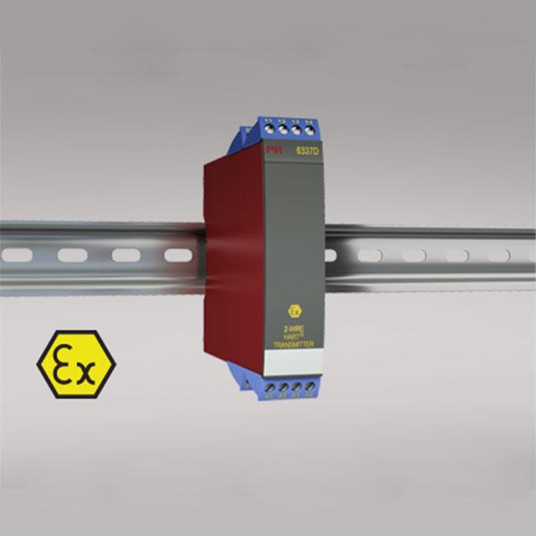 6337D 2-wire HART transmitter