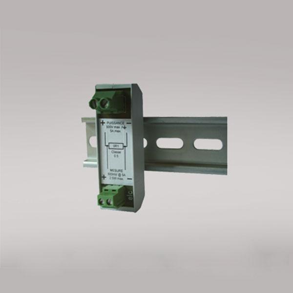 7030 Shunt resistor 0.1 Ω for DIN rail mounting