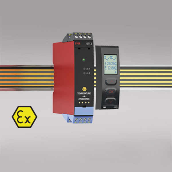 9113B Temperature / mA converter