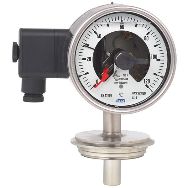 Anahtar kontaklı termometreler