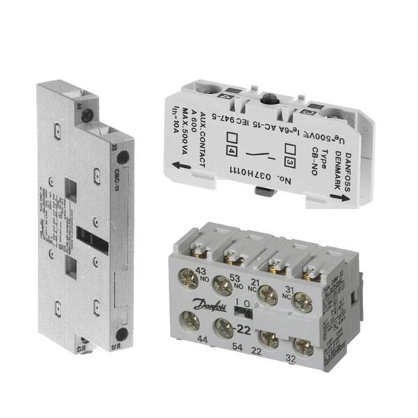 Auxiliary contacts - for contactors