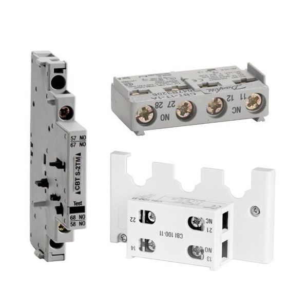 Auxiliary contacts - for circuit breakers