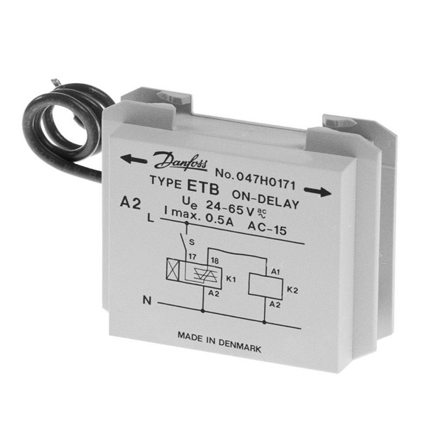 Clip-on timers - for contactors