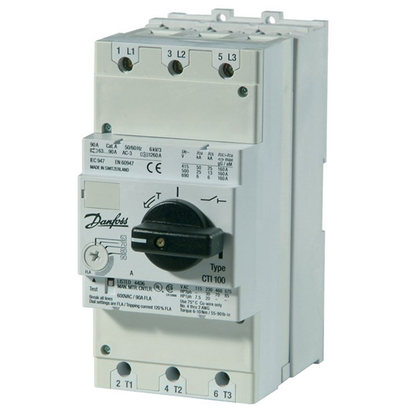 CTI 100, Circuit breakers with built-in current limiter