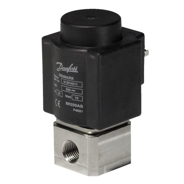 EV215B, Direct-operated 2/2-way solenoid valves for steam