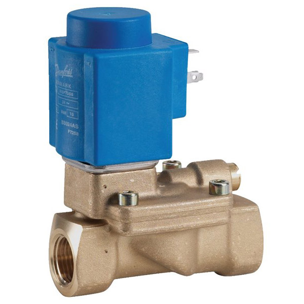 EV224B, Servo-operated 2/2-way solenoid valves for high pressure