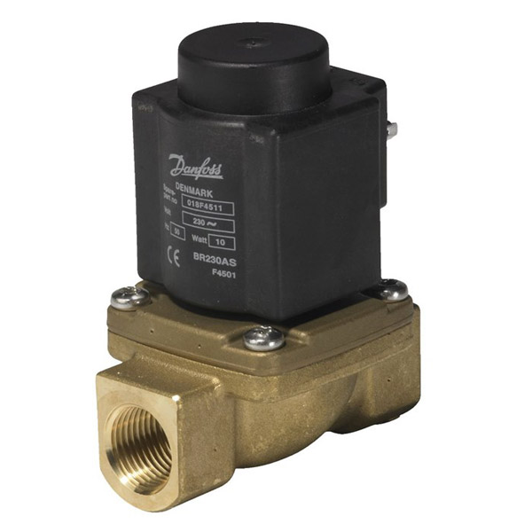 EV225B, Servo-operated 2/2-way solenoid valves for steam