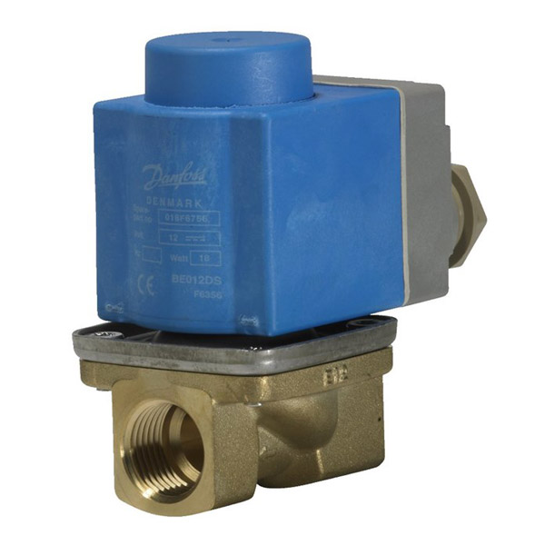 EV227B, Servo-operated 2/2-way solenoid valves