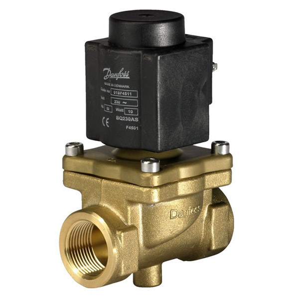 EV245B, Servo piston operated 2/2-way solenoid valves for steam