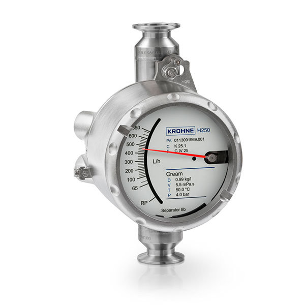 Variable Area Flowmeters – H250 Food | Pharmaceutical