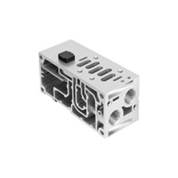 ISO 5599-2´ye uygun manifold bağlantı pleytleri