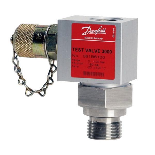 MBV 3000, Pressure test valves - for pressure transmitters
