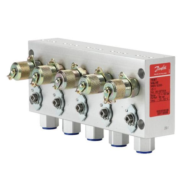 MBV 5000 test valves - for MBC 5000/5100