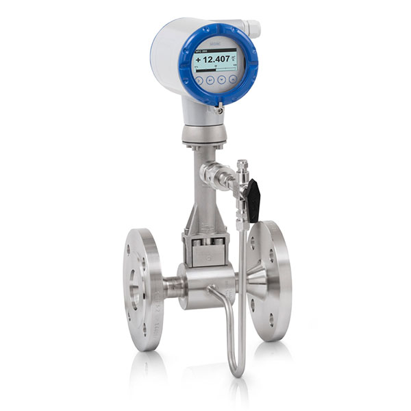 Vortex Flowmeter – OPTISWIRL Option shut-off valve