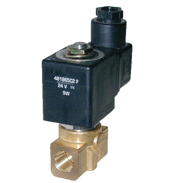 "PARKER 2-WAY NORMALLY CLOSED, 1/4"" GENERAL PURPOSE SOLENOID VALVES"