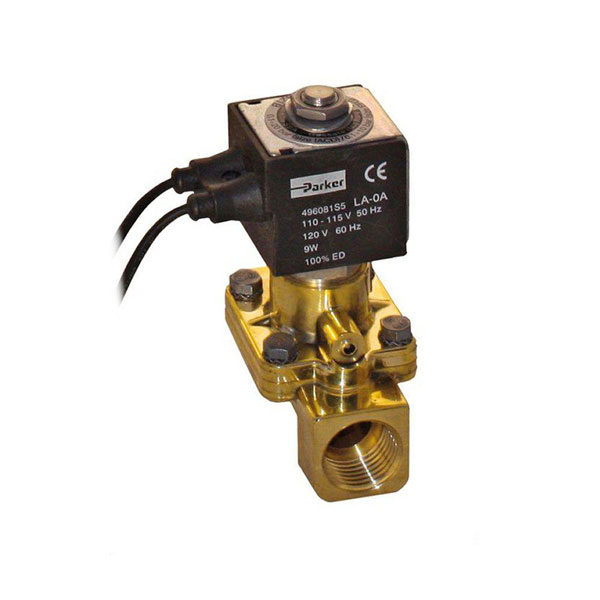 "PARKER 2-WAY NORMALLY CLOSED, 1"" GENERAL PURPOSE SOLENOID VALVES"