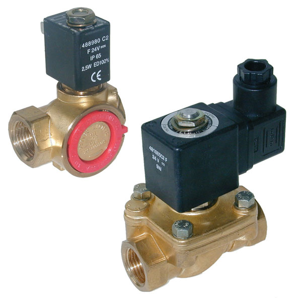 "PARKER 2-WAY NORMALLY CLOSED, 3/8"" GENERAL PURPOSE SOLENOID VALVES"