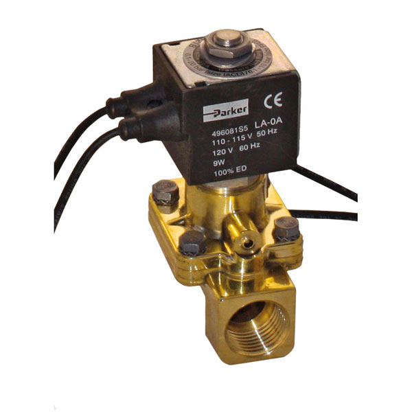 "PARKER 2-WAY NORMALLY OPEN, 1"" GENERAL PURPOSE SOLENOID VALVES"