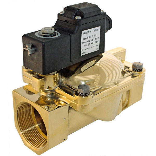"PARKER 2-WAY NORMALLY OPEN, 2"" GENERAL PURPOSE SOLENOID VALVES"