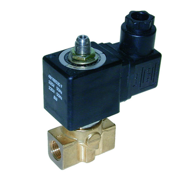 "PARKER 3-WAY NORMALLY OPEN, 1/4"" GENERAL PURPOSE SOLENOID VALVES"
