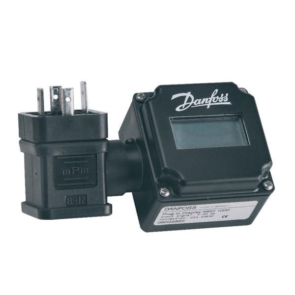Plug-in displays - for temperature sensors