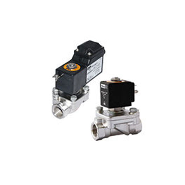 SOLENOID VALVES STAINLESS STEEL, 2-WAY, NORMALLY CLOSED