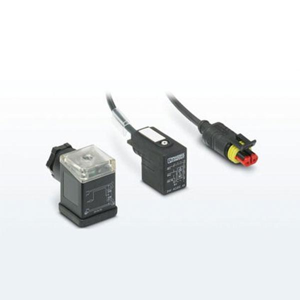 Valf konnektörleri ve kabloları