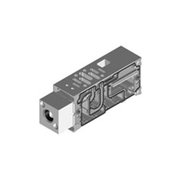 VSVA için manifold bağlantı pleytleri, ISO 15407-2, ISO 5599-2